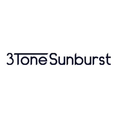 3 Tone Sunburst